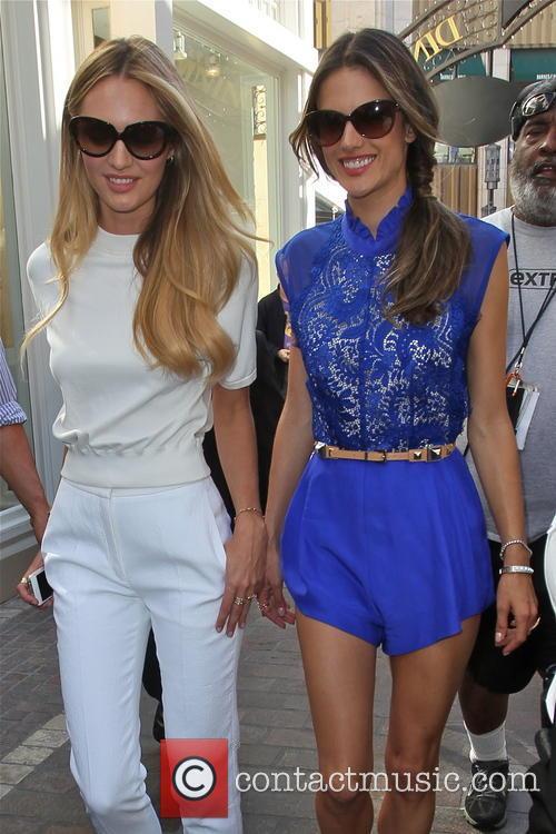 Alessandra Ambrosia and Candice Swanepoel 1