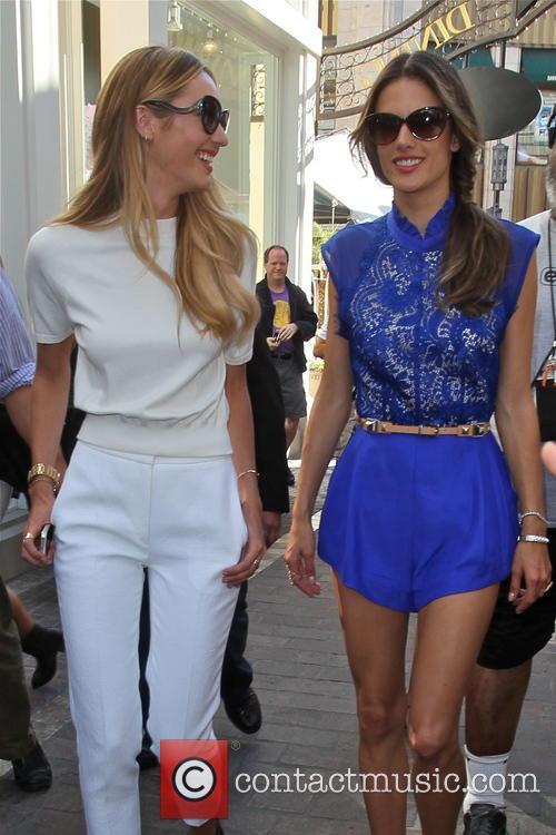 Candice Swanepoel and Alessandra Ambrosio 6