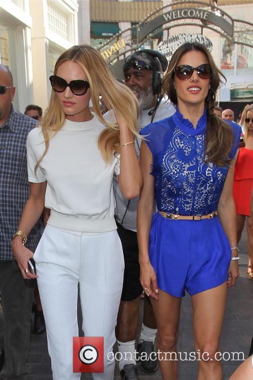 Candice Swanepoel and Alessandra Ambrosio 9