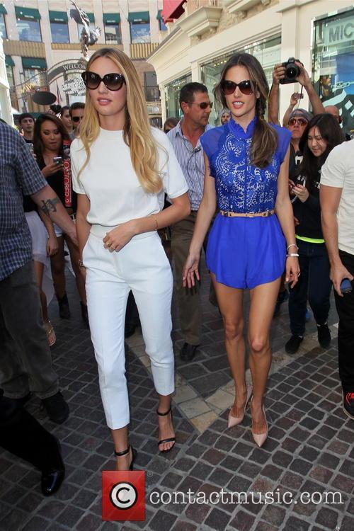 Candice Swanepoel and Alessandra Ambrosio 10