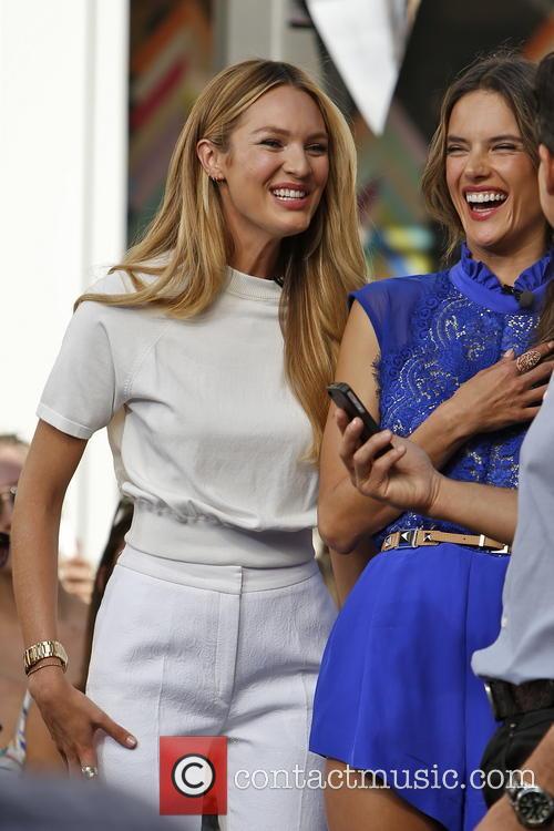 Candice Swanepoel and Alessandra Ambrosio 14
