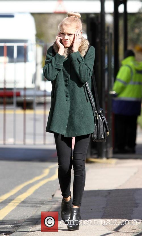 Hetti Bywater seen near the Elstree BBC studios