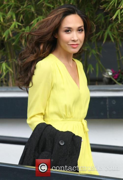 myleene klass celebrities at the itv studios 3551207