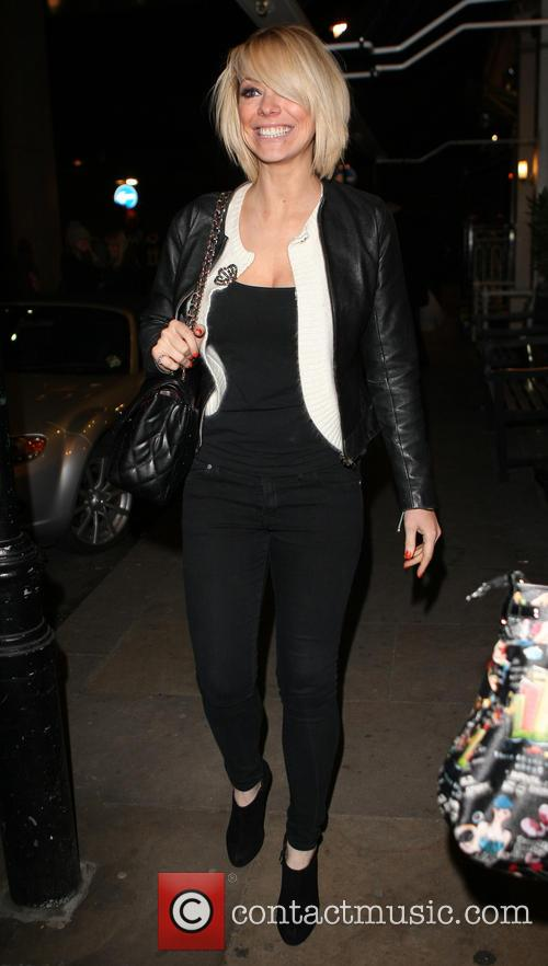 Celebrities seen outside the Sanctum Soho Hotel