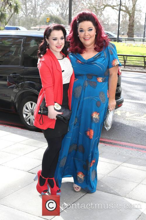Dani Harmer and Lisa Riley 2