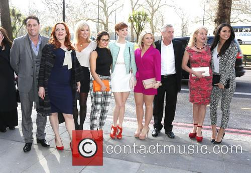 Nick Pickard, Bronagh Waugh, Gemma Bissix, Rachel Shelton, Lucy Dixon, Jazmine Franks and guests 2