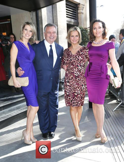 Charlotte Hawkins, Eamonn Holmes, Jacquie Beltrao and Guest 2