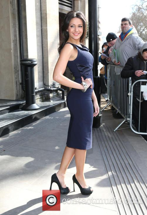 michelle keegan the tric awards 2013 3551458
