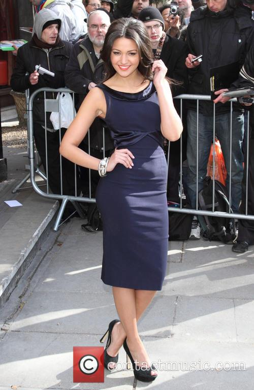 michelle keegan the tric awards 2013 3551602