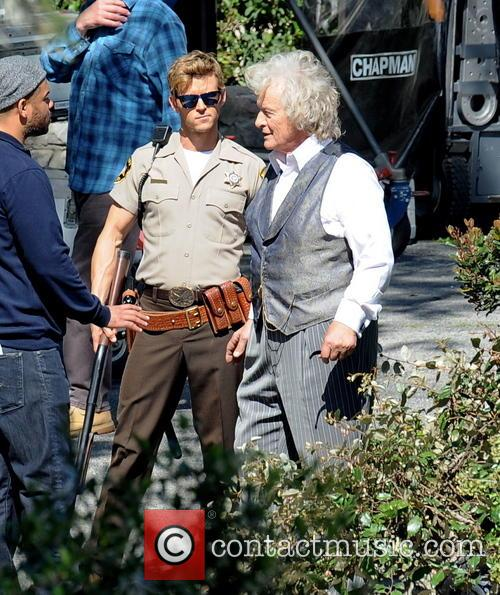 Ryan Kwanten and Rutger Hauer 4