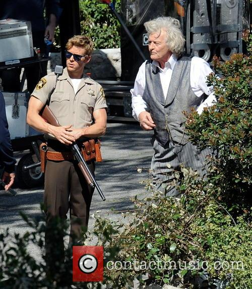 Ryan Kwanten and Rutger Hauer 7