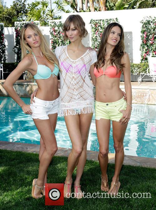 Candice Swanepoel, Karlie Kloss and and Alessandra Ambrosio 3