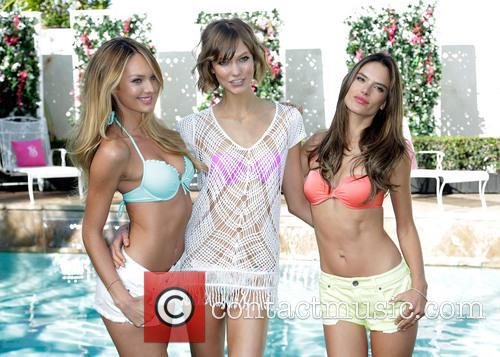 Candice Swanepoel, Karlie Kloss and and Alessandra Ambrosio 5