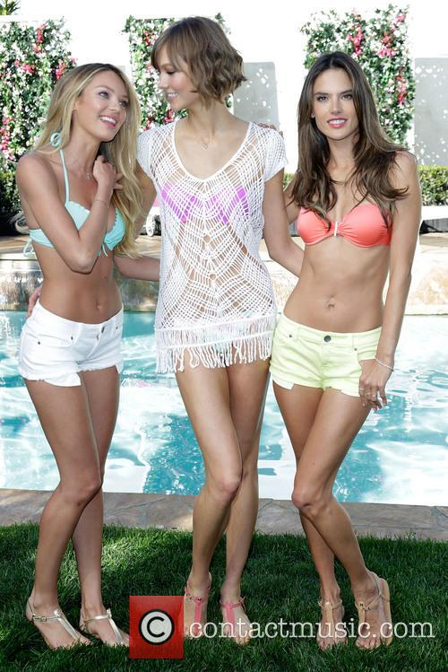 Candice Swanepoel, Karlie Kloss and and Alessandra Ambrosio 9