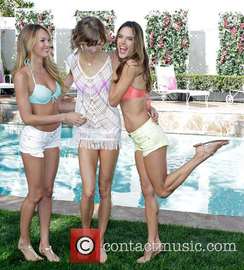 Candice Swanepoel, Karlie Kloss and and Alessandra Ambrosio 1