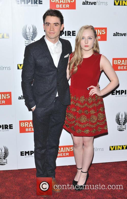 Jamie Blackley and Alexa Davies 2