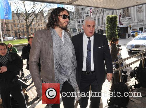Mitch Winehouse and Russell Brand 2