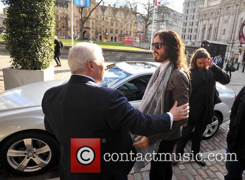 Mitch Winehouse and Russell Brand 1