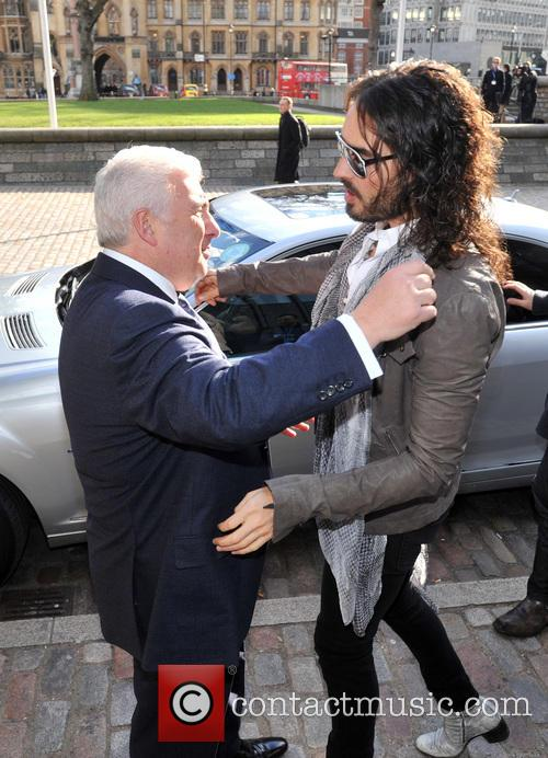 Mitch Winehouse and Russell Brand 7