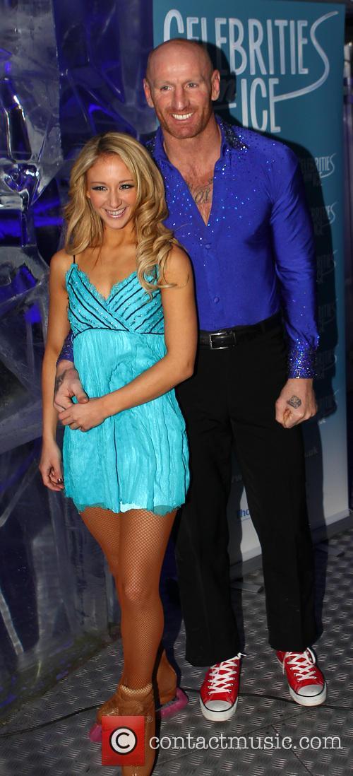 'Celebrities on Ice' photocall at Ice Bar