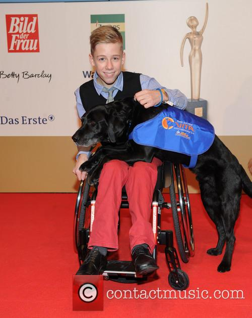 Robin Lange and His Dog Vitus 1