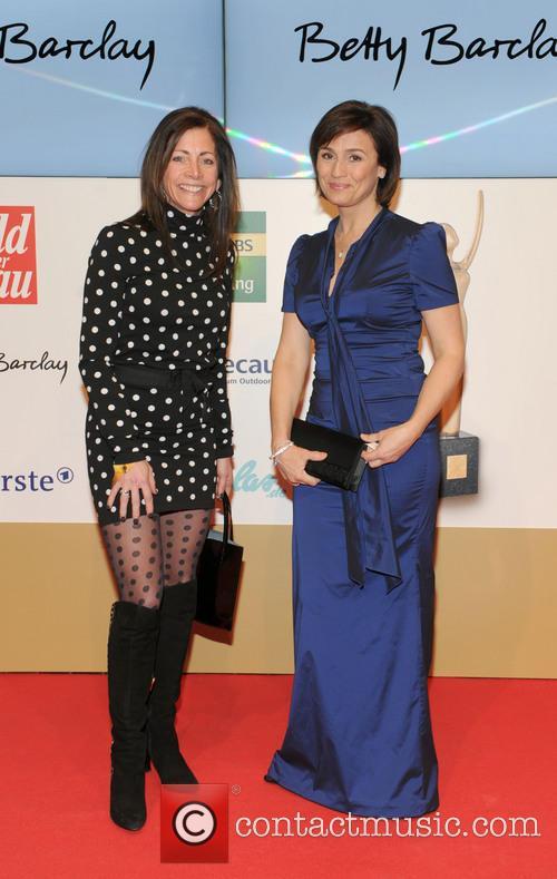 Tammy Murphy and Sandra Maischberger 1