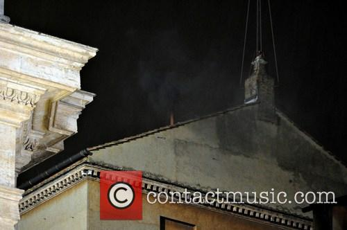 Black Smoke From The Sistine Chapel