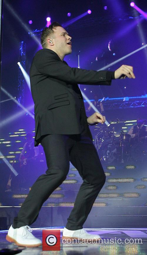 Olly Murs Performing live in concert at the...