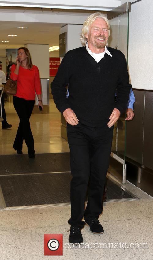 Richard Branson In Miami