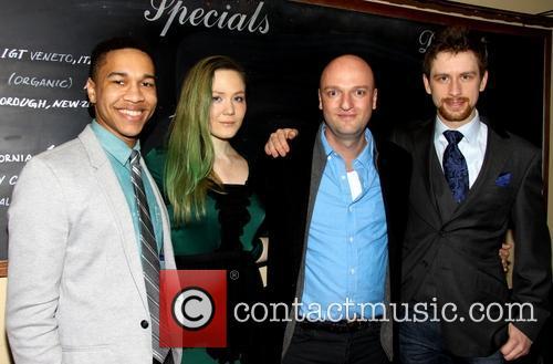 Clifton Moten, Louisa Krause, Matthew Maher and Alex Hanna 6