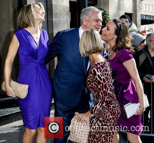 Charlotte Hawkins, Eamonn Holmes, Jacquie Beltrao and Guest 4