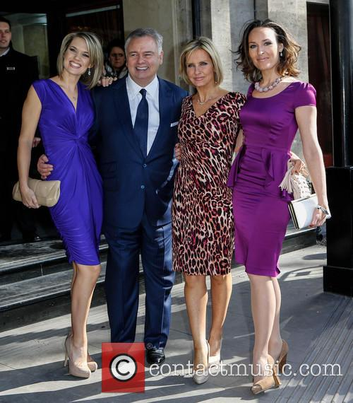 Charlotte Hawkins, Eamonn Holmes, Jacquie Beltrao and Guest 5