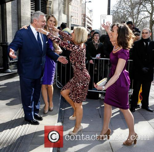 Charlotte Hawkins, Eamonn Holmes, Jacquie Beltrao and Guest 1