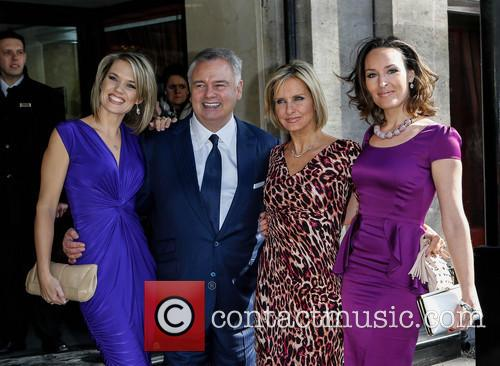 Eamonn Holmes, Charlotte Hawkins, Jacquie Beltrao and Guest 3
