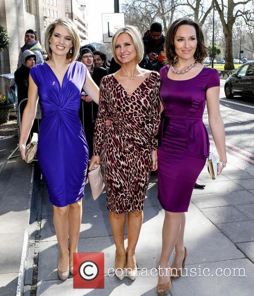 Charlotte Hawkins, Jacquie Beltrao and Guest 6