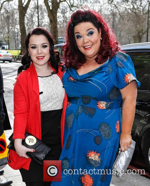 Dani Harmer and Lisa Riley