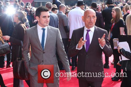Sir Ben Kingsley and Son Ferdinand Kingsley 5