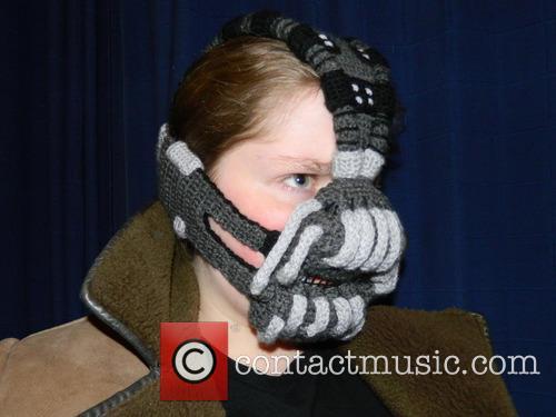 Crocheted Bane Mask 2