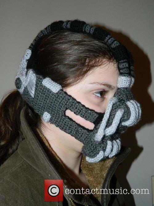 Crocheted Bane Mask 3