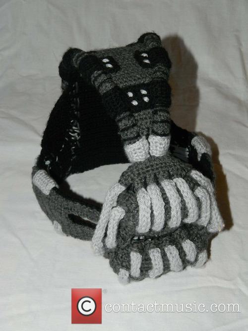 Crocheted Bane Mask 4