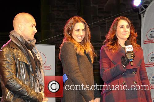 Mel C, Melanie Chisholm and Louie Spence 3