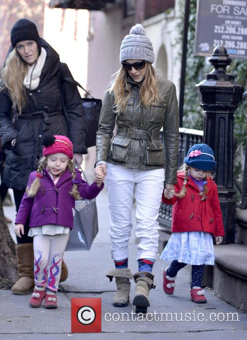 Sarah Jessica Parker, Marion Broderick and Tabitha Broderick 4