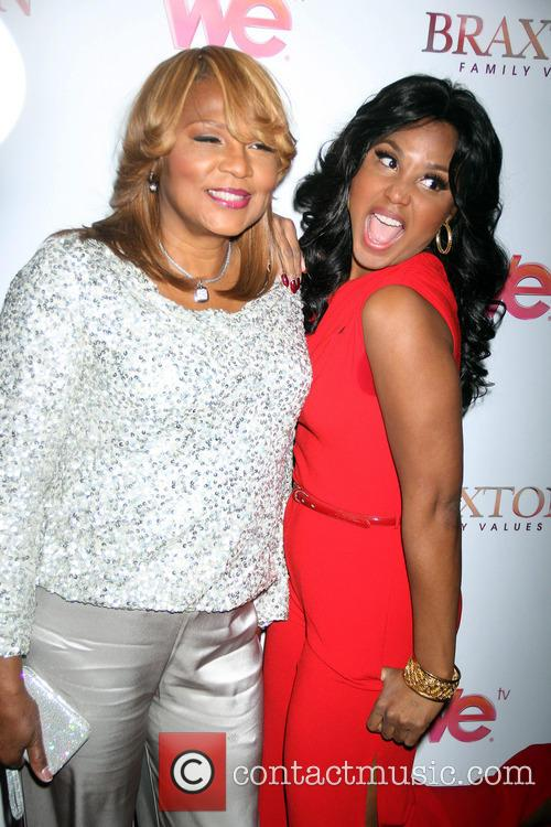 Toni Braxton and Evelyn Braxton 4