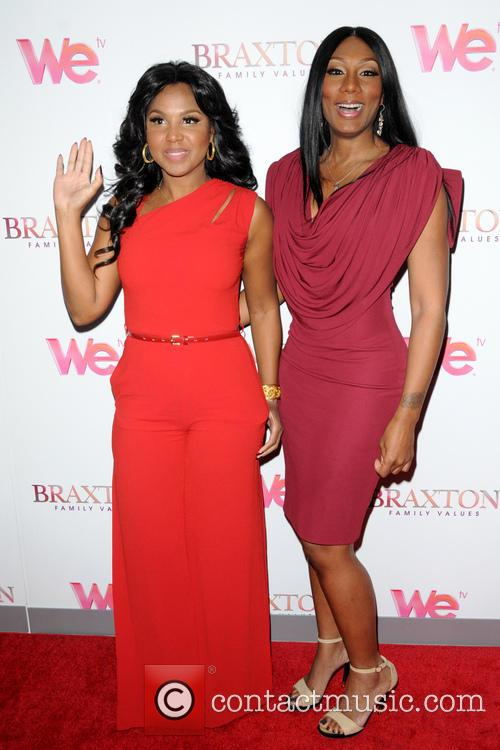 Toni Braxton and Towanda Braxton 9