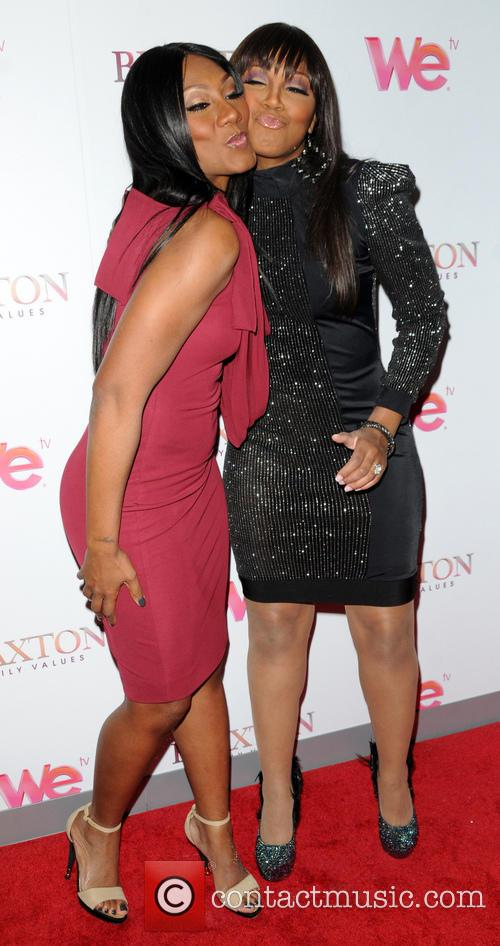 Trina Braxton and Towanda Braxton 1