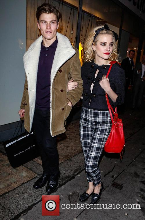 Oliver Cheshire and Pixie Lott 5