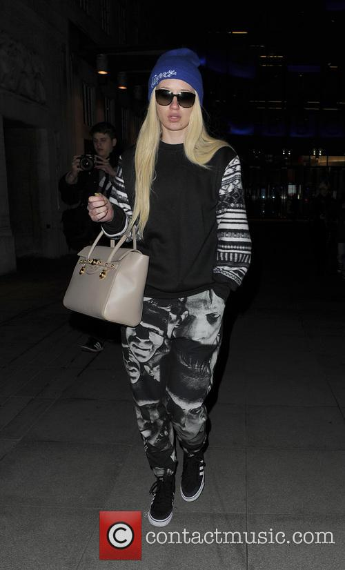 Iggy Azalea Leaving The Radio 1 studios
