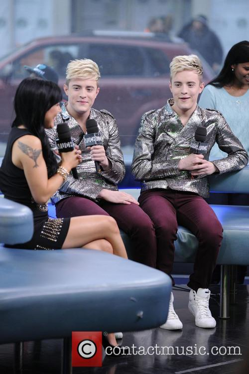 Jedward on MUCH Music's NEW.MUSIC.LIVE show