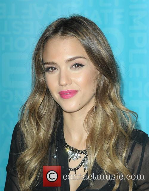 Jessica Alba signs copies of her book