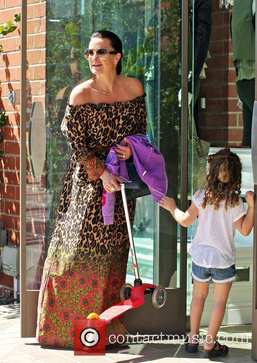 Kyle Richards and Portia 8